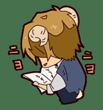 KOUKOUSEI-MANGA sticker #494255