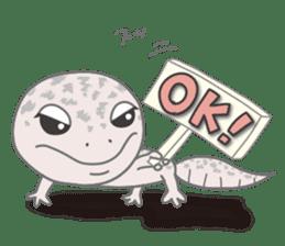 """GOMASiO kun """"Leopard Gecko"""" sticker #494475"""