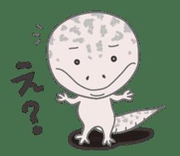"""GOMASiO kun """"Leopard Gecko"""" sticker #494486"""