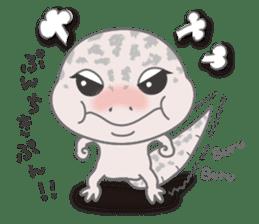 """GOMASiO kun """"Leopard Gecko"""" sticker #494490"""