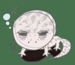 """GOMASiO kun """"Leopard Gecko"""" sticker #494508"""