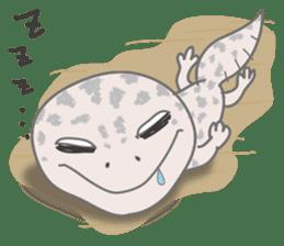 """GOMASiO kun """"Leopard Gecko"""" sticker #494509"""