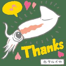 Deep-sea fish charaters sticker #495771