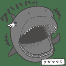 Deep-sea fish charaters sticker #495772