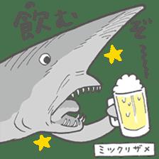 Deep-sea fish charaters sticker #495783