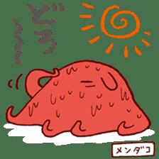 Deep-sea fish charaters sticker #495786
