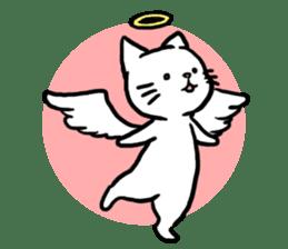 Unrestrained cat sticker #497255