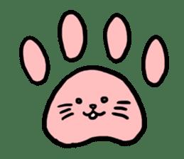 Unrestrained cat sticker #497260