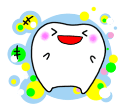 tooth sticker #497314
