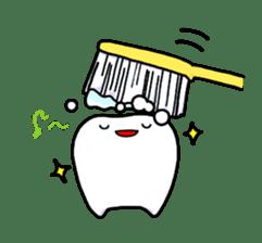 tooth sticker #497325