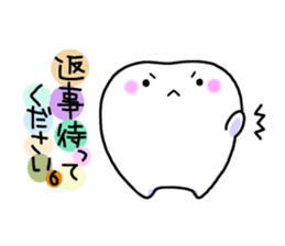tooth sticker #497326