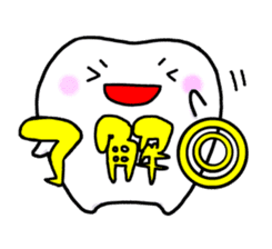 tooth sticker #497331