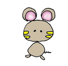 YURARI MOUSE sticker #497375