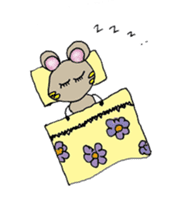 YURARI MOUSE sticker #497380