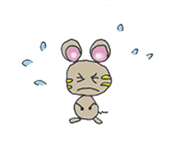 YURARI MOUSE sticker #497384