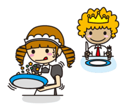 Daily life of royal family Part1 sticker #498528