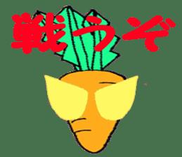 TEAM Carrot sticker #498838