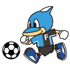 KAWASAKI FRONTALE OFFICIAL FRON-TA STAMP