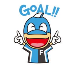 KAWASAKI FRONTALE OFFICIAL FRON-TA STAMP sticker #500118