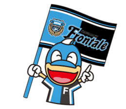 KAWASAKI FRONTALE OFFICIAL FRON-TA STAMP sticker #500140