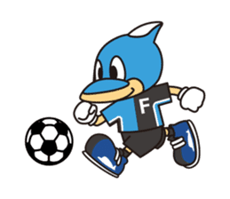 KAWASAKI FRONTALE OFFICIAL FRON-TA STAMP sticker #500143