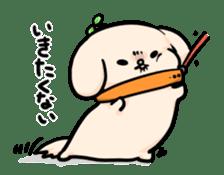 dog Stamp sticker #500395