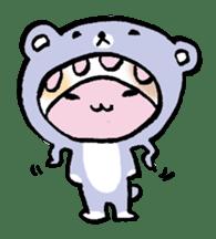 gekkan kodamakuniko stamp1 sticker #501169