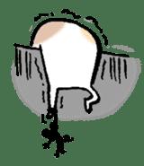 gekkan kodamakuniko stamp1 sticker #501180