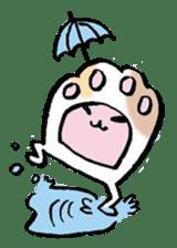 gekkan kodamakuniko stamp1 sticker #501190