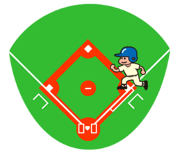 Baseball is loved. sticker #501262