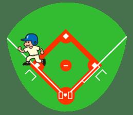 Baseball is loved. sticker #501264