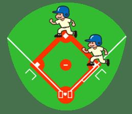 Baseball is loved. sticker #501265