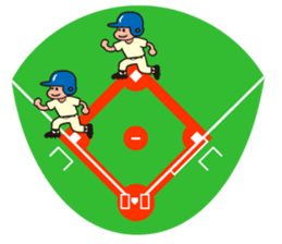 Baseball is loved. sticker #501266
