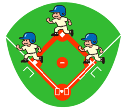 Baseball is loved. sticker #501268