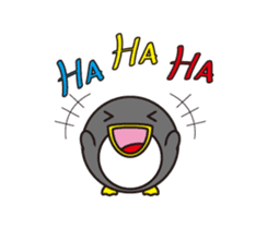 circle face 14 penguin part 1 sticker #501915