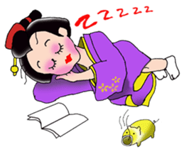 """Asakusa"" Girl sticker #502677"