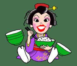 """Asakusa"" Girl sticker #502691"