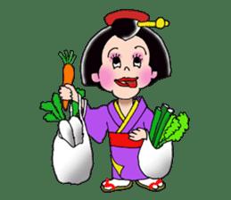 """Asakusa"" Girl sticker #502699"