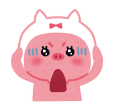 Butapin the Pink Pig sticker #503116