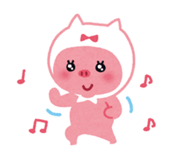 Butapin the Pink Pig sticker #503118