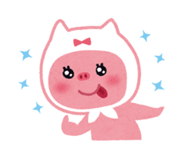 Butapin the Pink Pig sticker #503129