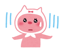 Butapin the Pink Pig sticker #503132