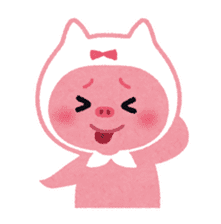 Butapin the Pink Pig sticker #503144