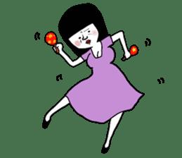 A town phantom thief, Miss Baba sticker #503244