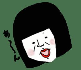 A town phantom thief, Miss Baba sticker #503253
