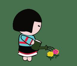 Lovely girl sticker #503856