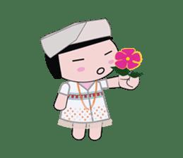 Lovely girl sticker #503859