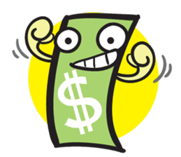 Money Talks sticker #505024