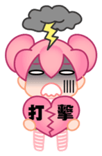 time girl sticker #506780