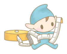 The Sewing Elf sticker #507076